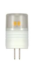 SATCO S9220 Set of 6 Minature LED Lightbulbs (LED/2.3W/JC/G4/3000K)