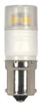 SATCO S9222 Set of 6 Minature LED Lightbulbs (LED/2.3W/BA15S/3000K)