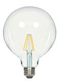SATCO S9565 Set of 6 LED Filament LED Lightbulbs (4.5G40/CL/LED/E26/27K/120V)