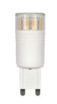SATCO S9225 Set of 6 Minature LED Lightbulbs (LED/3.0W/G9/220L/5000K/DIM)