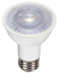 SATCO S9388 Set of 6 PAR LED Lightbulbs (6.5PAR16/LED/40'/3000K/120V)
