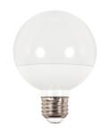 SATCO S9201 Set of 6 LED Globe Light LED Lightbulbs (6G25/LED/3000K/470L/120/D)