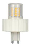 SATCO S9228 Set of 6 Minature LED Lightbulbs (LED/5.0W/G9/360L/3000K/DIM)