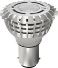 SATCO S9005 Set of 6 Minature LED Lightbulbs (2WLED/GBF/ELEVATOR/12VAC/DC)