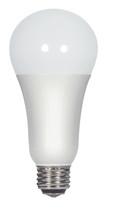 SATCO S9372 Set of 6 Type A LED Lightbulbs (3/11/16A21/3WAY/LED/4000K/120V)
