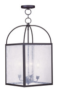 LIVEX Lighting 4046-04 Milford Chain Lantern in Black (4 Light)