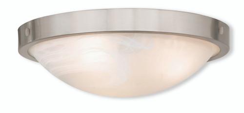 Livex Oldwick Modern Brushed Nickel 3 Light Bathroom: LIVEX Lighting 73952-91 New Brighton Contemporary
