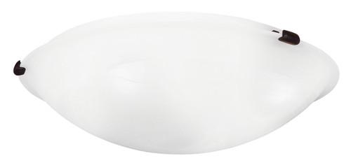 LIVEX Lighting 8013-07 Oasis Contemporary Flushmount in Bronze (4 Light)