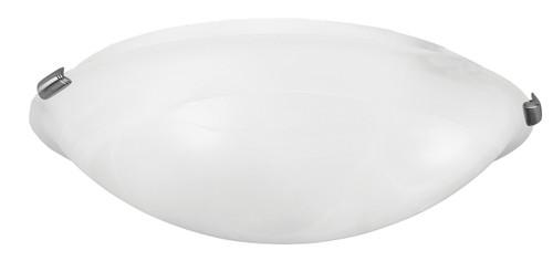 LIVEX Lighting 8013-91 Oasis Contemporary Flushmount in Brushed Nickel (4 Light)