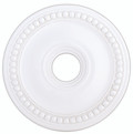 LIVEX Lighting 82074-03 Wingate Ceiling Medallion in White
