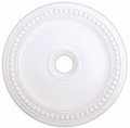 LIVEX Lighting 82076-03 Wingate Ceiling Medallion in White