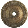 LIVEX Lighting 82077-71 Wingate Ceiling Medallion with Hand-Applied Venetian Golden Bronze