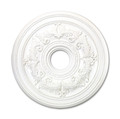LIVEX Lighting 8200-03 Ceiling Medallion in White