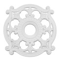LIVEX Lighting 8216-03 Ceiling Medallion in White