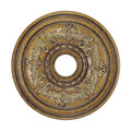 LIVEX Lighting 8200-57 Ceiling Medallion in Venetian Patina
