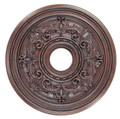 LIVEX Lighting 8200-58 Ceiling Medallion in Imperial Bronze