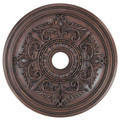 LIVEX Lighting 8210-58 Ceiling Medallion in Imperial Bronze