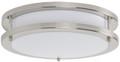 Luminance F9913-80 LED Round Outdoor Flushmount Ceiling Fixture