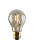 Luminance L7583-1 Set of 6 LED A19 Nostalgia Filament Lightbulbs
