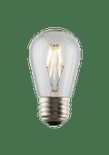 Luminance L7584-1 Set of 6 LED S14 Nostalgia Filament Lightbulbs