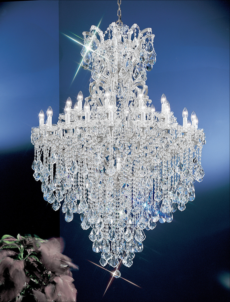 design classic lighting lamp classic lighting 8183 ch sc maria theresa traditional crystal chandelier in chrome imported from italy