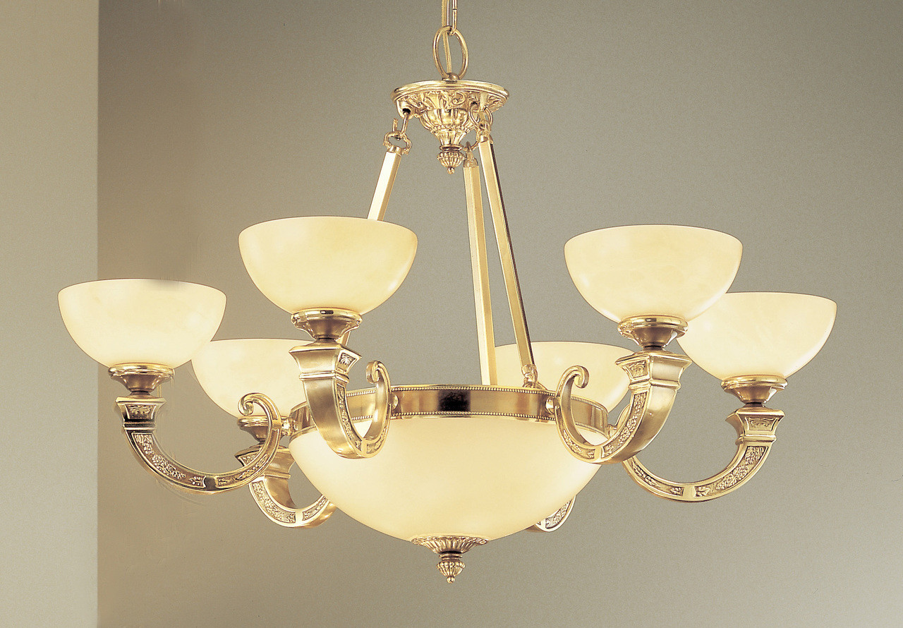 Classic Lighting 5628 ABZ Mallorca Alabaster Chandelier in Antique Bronze  (Imported from Spain) - Classic Lighting 5628 ABZ Mallorca Alabaster Chandelier In Antique