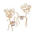 POMEROY 519444-S2 Gilded Set of 2 Reindeer