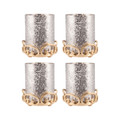 POMEROY 519468-S4 Gwendolyn Set of 4 Pillar Holders