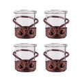 POMEROY 621246-S4 Lasso Set of 4 Votives