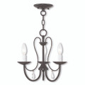 LIVEX Lighting 40863-92 Mirabella Chandelier in English Bronze