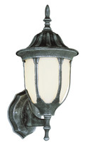 "Hamilton 19"" Outdoor Swedish Iron Traditional Wall Lantern with Classic Landscaping Light Asthetics"