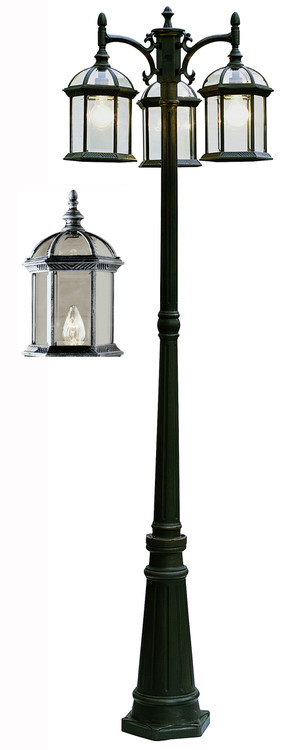 Wentworth 79 Quot Outdoor Swedish Iron Traditional Pole Light
