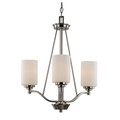 "Mod Pod Collection 20.5"" Indoor Rubbed Oil Bronze Modern Chandelier"