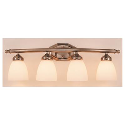 "Ashlea 28"" Indoor Brushed Nickel Traditional Vanity Bar"