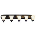 "Rusty 38"" Indoor Rubbed Oil Bronze Traditional Vanity Bar"