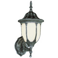 "Hamilton 13"" Outdoor Swedish Iron Traditional Wall Lantern with Classic Landscaping Light Asthetics"