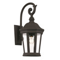 "Westfield 21"" Outdoor Black Traditional Wall Lantern"