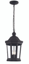 "Westfield 22"" Outdoor Black Traditional Hanging Lantern"
