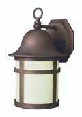 "Thomas 16"" Outdoor Weathered Bronze Transitional  Wall Lantern"