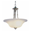 "Perkins 20"" Indoor Brushed Nickel Transitional  Pendant"