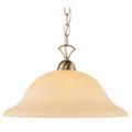 "Trans Globe Lighting 9283 BN 16"" Indoor Brushed Nickel Transitional  Pendant"