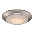 "Vanowen 7.5"" Indoor Brushed Nickel Contemporary Flushmount"