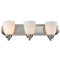 "Trans Globe Lighting 3503-1 PC 24"" Indoor Polished Chrome Traditional Vanity Bar(Shown in BN Finish)"