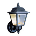 "Trans Globe Lighting 4006 SWI 7.5"" Outdoor Swedish Iron Traditional Wall Lantern(Shown in Black Finish)"