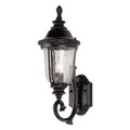 "Trans Globe Lighting 4021 BC 20"" Outdoor Black Copper Traditional Wall Lantern(Shown in Black Finish)"
