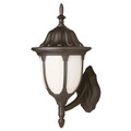 "Trans Globe Lighting 4041 BC 19"" Outdoor Black Copper Traditional Wall Lantern(Shown in Black Finish)"