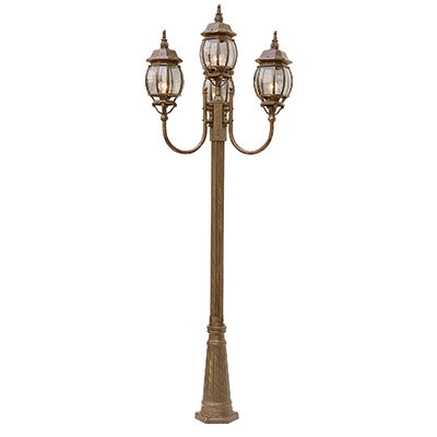 Parsons 96 Quot Outdoor White Traditional Pole Light With
