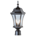"Trans Globe Lighting 4504 BC 21.25"" Outdoor Black Copper Traditional Postmount Lantern"