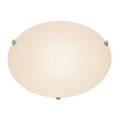"Trans Globe Lighting 58707 PC 15"" Indoor Polished Chrome Contemporary Flushmount"