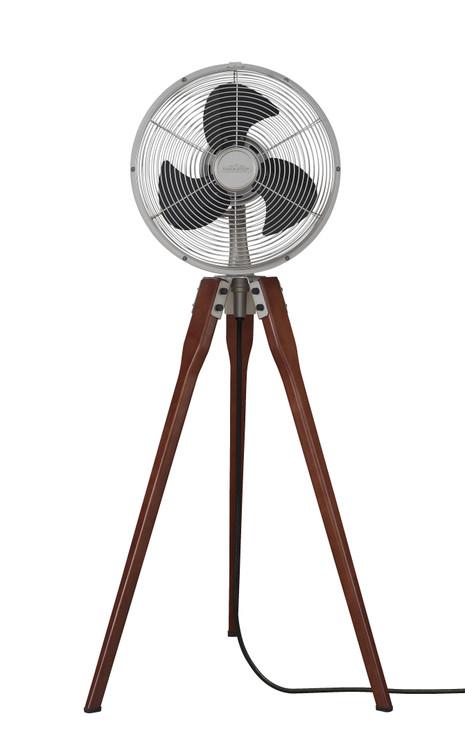 Fanimation FP8014SN Arden Pedestal Fan in Satin Nickel
